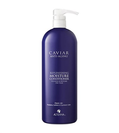 Alterna Caviar Anti-Aging Replenishing Moisture Conditioner - Кондиционер увлажняющий с морским шелком 1000мл - фото 4520