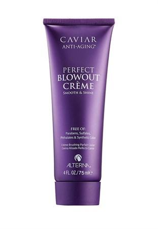 Alterna Caviar Anti-Aging Perfect Blowout Creme - Омолаживающий лосьон для разглаживания и блеска 75 мл - фото 4535
