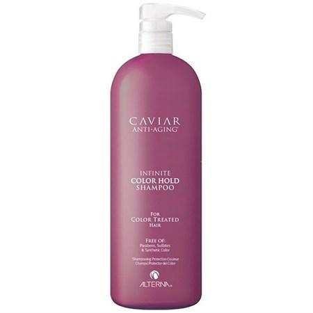 Alterna Caviar Infinite Color Hold Shampoo - Шампунь 1000мл для защиты цвета окрашенных волос - фото 4548