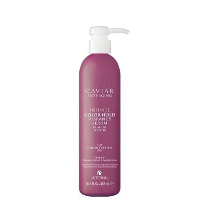 Alterna Caviar Infinite Color Hold Vibrancy Serum - Сыворотка 487мл для защиты цвета окрашенных волос - фото 4550