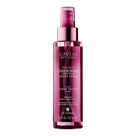 Alterna Caviar Infinite Color Hold Topcoat Shine Spray - Спрей 125мл для защиты цвета окрашенных волос - фото 4551