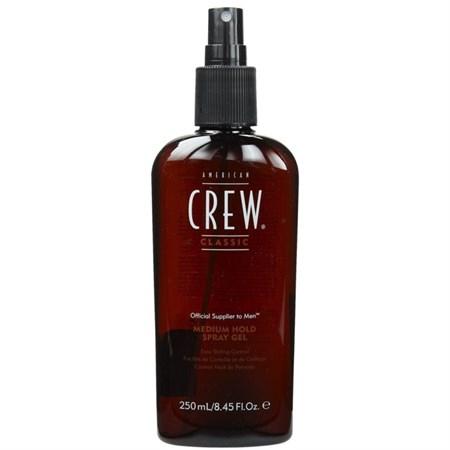 American Crew Classic Medium Hold Spray Gel - Спрей-гель 250мл для волос средней фиксации - фото 4570