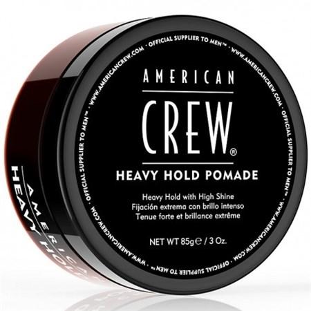 American Crew Heavy Hold Pomade - Помада для укладки жесткой фиксации 85 г - фото 4585