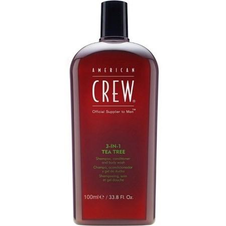 American Crew 3 in 1 Tee Tree - 3-в-1 Уход за Волосами и Телом с экстрактом Чайного Дерева 100мл - фото 4620