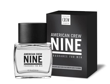 American Crew Eau de Parfum NINE - Туалетная вода для мужчин NINE 75 мл - фото 4629