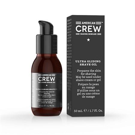 American Crew Ultra Gliding Shave Oil - Масло для бритья 50мл - фото 4639