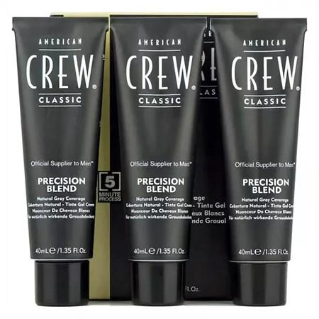 American Crew - Камуфляж Блонд 3 х 40мл для седых волос 7.8 - фото 4647