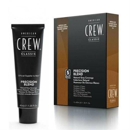 American Crew - Камуфляж средний пепельный 3 х 40мл для седых волос 5.6 - фото 4649