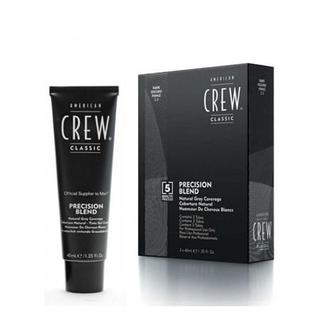 American Crew - Камуфляж темный натуральный 3 х 40мл для седых волос 2.3 - фото 4650