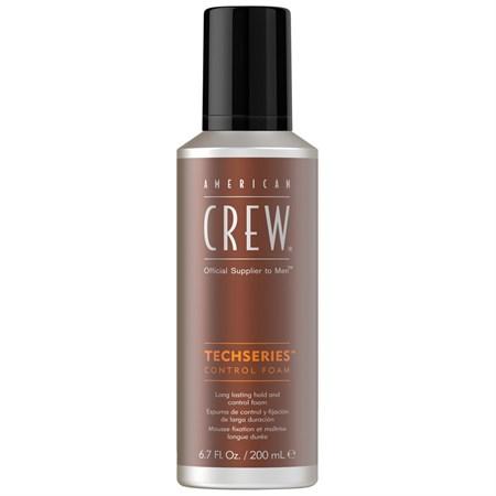 American Crew Control Foam Techseries - Пена для укладки волос 200мл - фото 4654