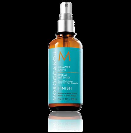 Moroccanoil Glimmer Shine Spray - Спрей для придания волосам мерцающего блеска 100мл - фото 4707