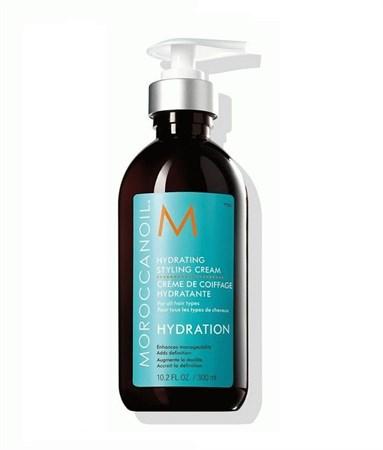 Moroccanoil Hydrating Styling Cream - Крем увлажняющий для укладки волос 300мл - фото 4715