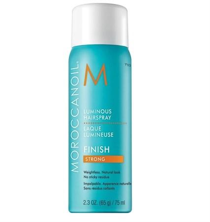 Moroccanoil Luminous Hair Spray Strong - Лак сияющий для волос сильной фиксации 75мл - фото 4725