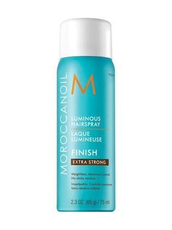 Moroccanoil Luminous Hair Spray Extra Strong - Лак сияющий для волос экстра сильной фиксации 75мл - фото 4728