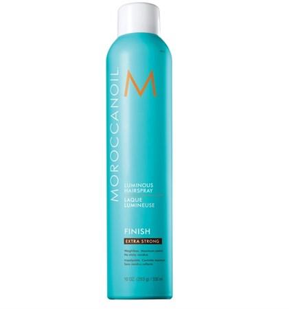 Moroccanoil Luminous Hair Spray Extra Strong - Лак сияющий для волос экстра сильной фиксации 330мл - фото 4729