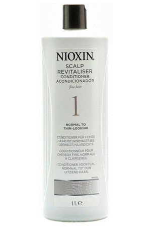 Nioxin Scalp Revitaliser System 1(Система 1) - Кондиционер увлажняющий 1000мл - фото 4806