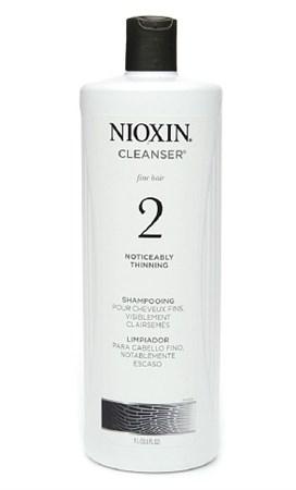 Nioxin Cleanser System 2 (Система 2) - Шампунь очищающий 1000мл - фото 4819