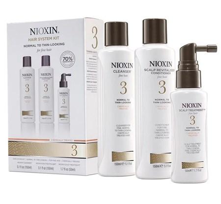 Nioxin System 3 Kit - Ниоксин набор (Система 3) 150 мл+150 мл+50 мл - фото 4828