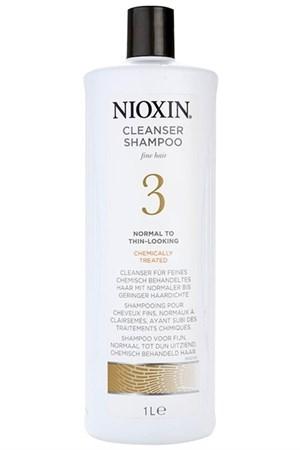 Nioxin Cleanser System 3 - Шампунь очищающий Ниоксин (Система 3) 1000мл - фото 4832