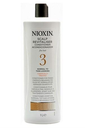 Nioxin Scalp Revitaliser System 3 - Кондиционер ниоксин (Система 3) 1000мл увлажняющий - фото 4836
