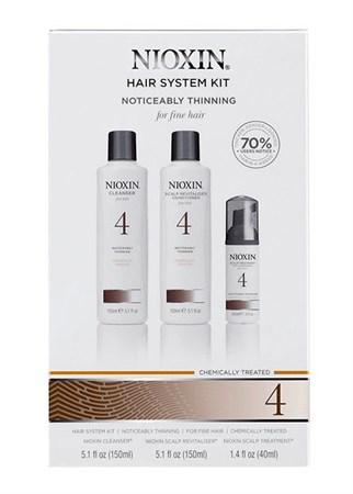 Nioxin Starter Kit System 4 - Ниоксин набор (Система 4) 150 мл+150 мл+40 мл - фото 4844