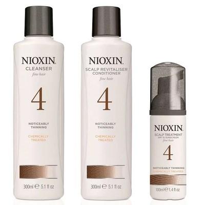 Nioxin System 4 Starter Kit XXL - Набор Ниоксин (Система 4) 300 + 300 + 100мл - фото 4846