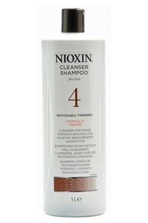 Nioxin Cleanser System 4 - Шампунь Ниоксин (Система 4) 1000мл очищающий - фото 4848