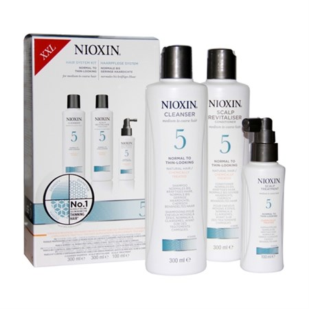 Nioxin System 5 Kit XXL - Ниоксин Набор (Система 5) 300 + 300 + 100мл - фото 4857
