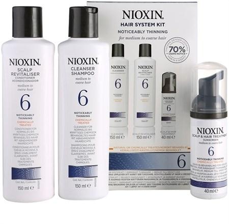 Nioxin System 6 Kit - Ниоксин набор (Система 6) 150 мл+150 мл+40 мл - фото 4868