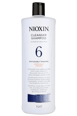 Nioxin Cleanser System 6 - Шампунь Ниоксин (Система 6) 1000мл очищающий - фото 4874