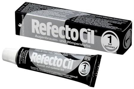 RefectoCil №1 Черный - Краска для бровей и ресниц 15мл - фото 4885