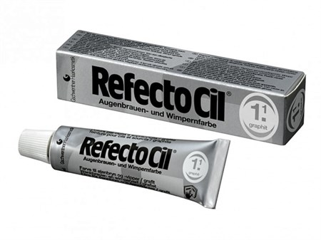 RefectoCil №1.1 Графит - Краска для бровей и ресниц 15мл - фото 4886
