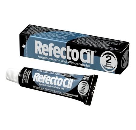 RefectoCil №2 - Краска для бровей и ресниц Черно-Синий 15мл - фото 4888