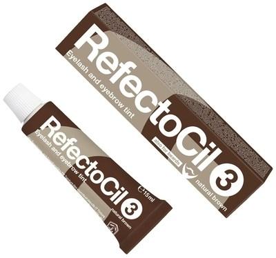 RefectoCil № 3 - Краска для бровей и ресниц Коричневый 15мл - фото 4892