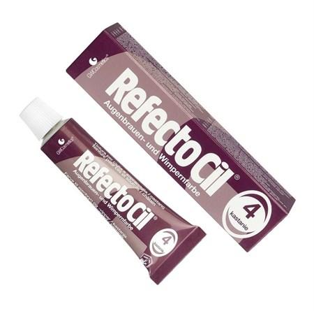 RefectoCil № 4 - Краска для бровей и ресниц Каштан 15мл - фото 4894