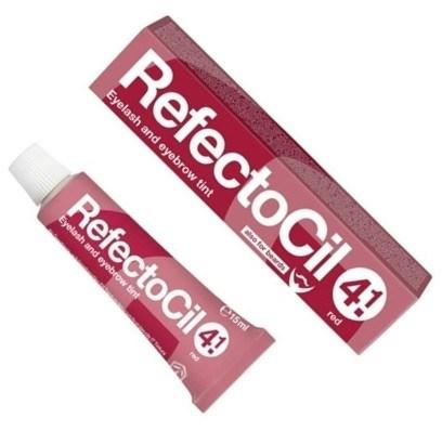 RefectoCil № 4.1 - Краска для бровей и ресниц Красный 15мл - фото 4896