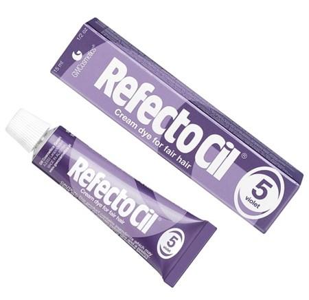 RefectoCil № 5 - Краска для бровей и ресниц Фиолетовый 15мл - фото 4898