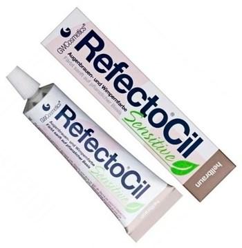 RefectoCil SENSITIVE - Краска для бровей и ресниц светло коричневая 15мл - фото 4901