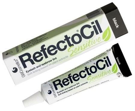 RefectoCil SENSITIVE - Краска для бровей и ресниц черная 15мл - фото 4903