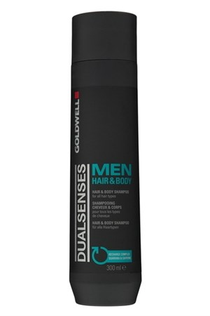 Goldwell Dualsenses For Men Hair&Body Shampoo - Шампунь 300мл для волос и тела - фото 4912