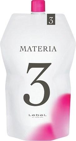 Lebel Materia Oxy 3% - Оксидант для смешивания с краской Materia 1000 мл - фото 4957