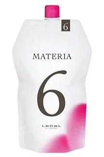 Lebel Materia Oxy 6% - Оксидант для смешивания с краской Materia 1000 мл - фото 4958