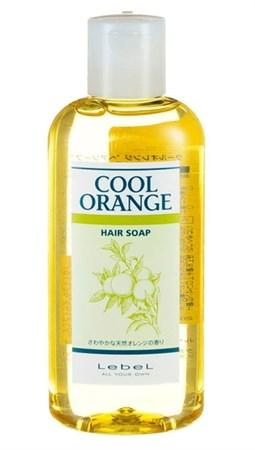 Lebel Cool Orange Hair Soap Cool - Шампунь Холодный Апельсин для волос 200мл - фото 4959