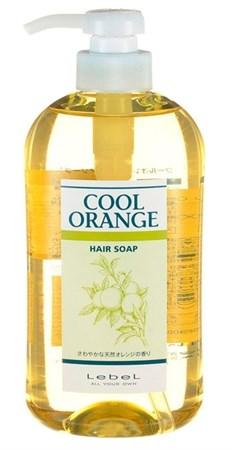 Lebel Cool Orange Hair Soap Cool - Шампунь Холодный Апельсин для волос 600мл - фото 4960