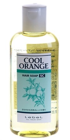 Lebel Cool Orange Hair Soap Super Cool - Шампунь Супер Холодный Апельсин 200мл для волос - фото 4963