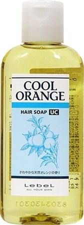 Lebel Cool Orange Hair Soap Ultra Cool - Шампунь Ультра Холодный Апельсин 200мл для волос - фото 4966