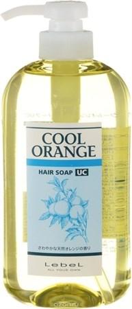 Lebel Cool Orange Hair Soap Ultra Cool - Шампунь Ультра Холодный Апельсин для волос 600мл - фото 4968