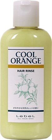 Lebel Cool Orange Hair Rinse - Бальзам ополаскиватель Холодный Апельсин 200мл - фото 4972