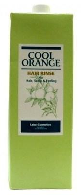 Lebel Cool Orange Hair Rinse - Бальзам ополаскиватель Холодный Апельсин 1600мл - фото 4976
