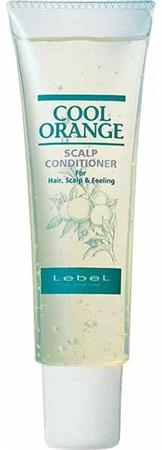 Lebel Cool Orange Scalp Conditioner - Очиститель для жирной кожи головы Холодный Апельсин 130 гр - фото 4978